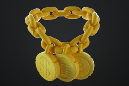 Boss's First Buck Necklace